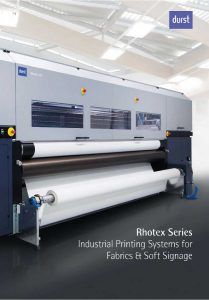 Durst Rhotex Series Brochure Cover