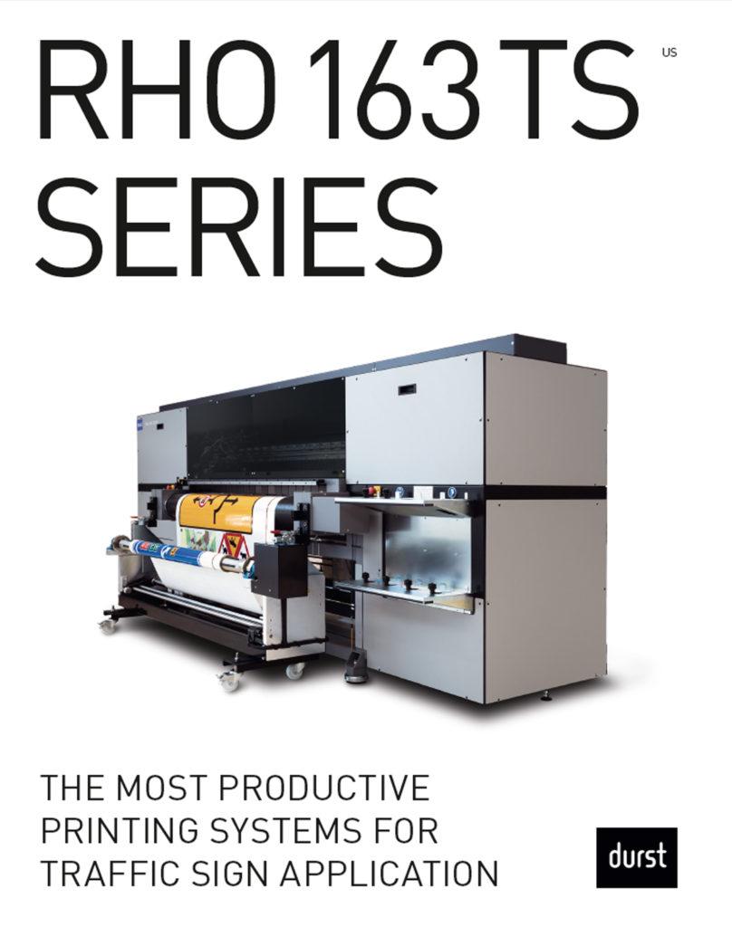 Durst Rho 163TS Series Cover