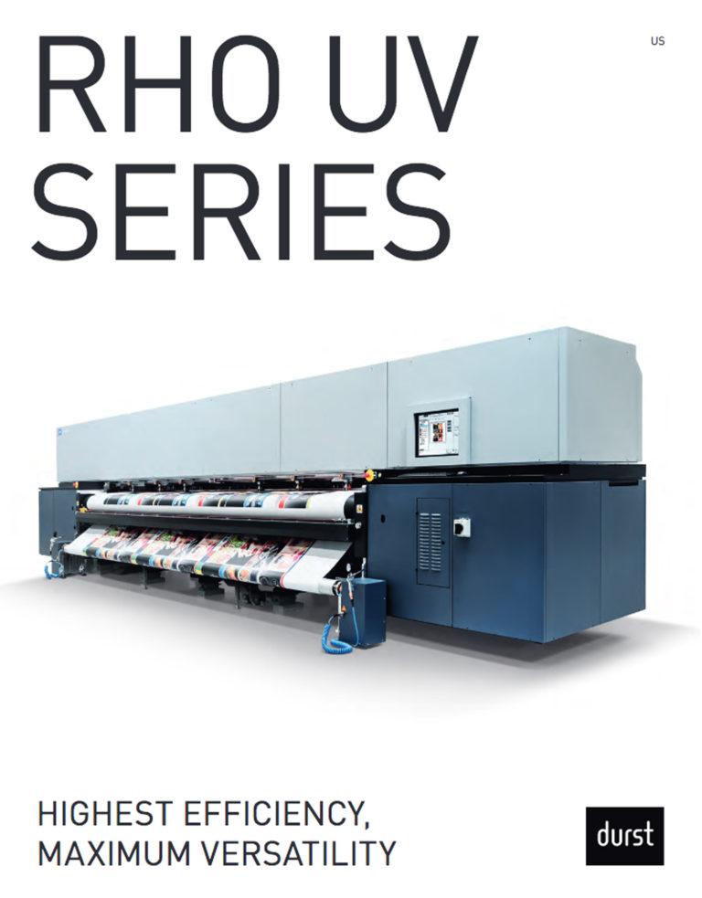Durst Rho UV Series Cover