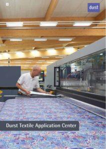 Durst Textile Application Center brochure cover