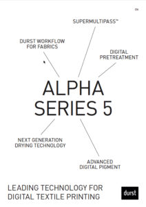 Durst Alpha Series Brochure Cover