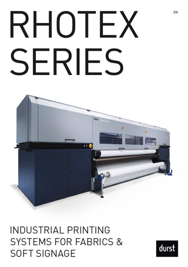 Durst Rhotex Series Brochure Cover