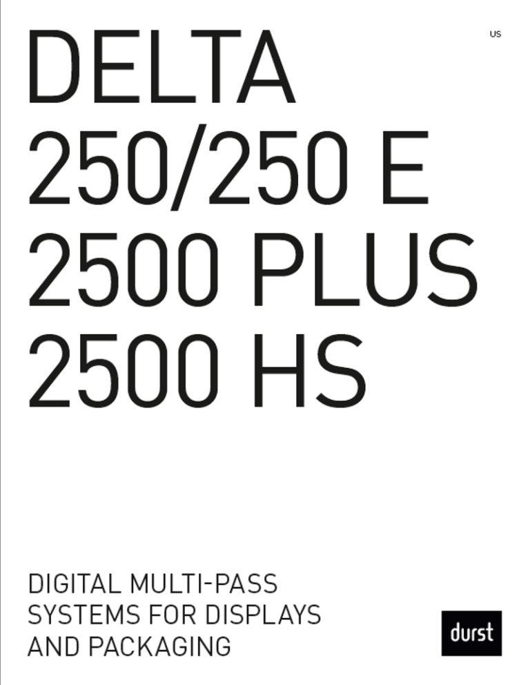 Durst Delta Brochure