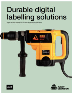 Durable Digital Labelling Solutions brochure