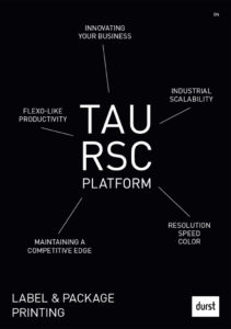 Tau RSC Brochure Cover