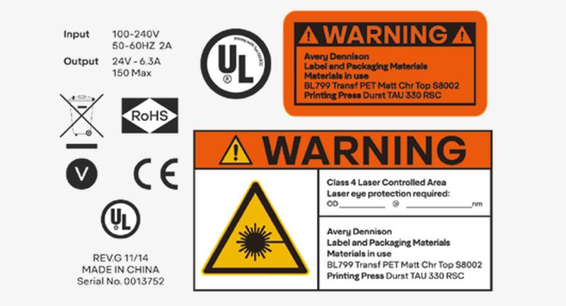 Durst Label Print Examples - Durables