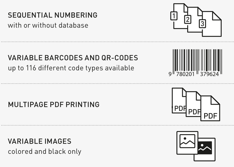 Durst Label Print Examples