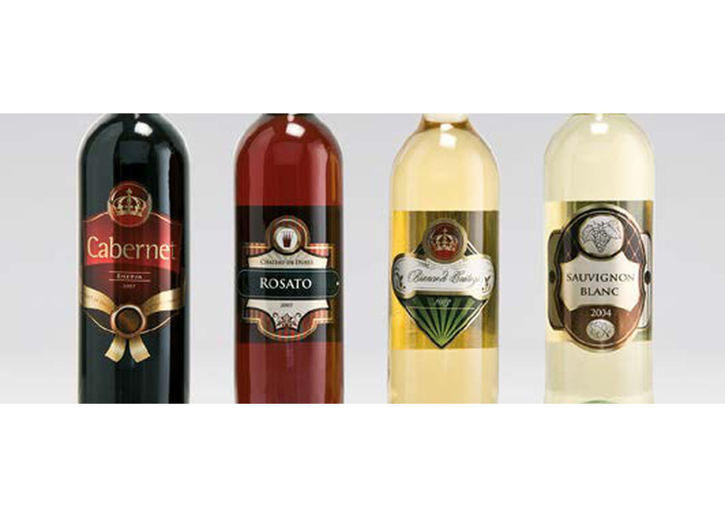 Durst Label Print Examples - Wine Labels