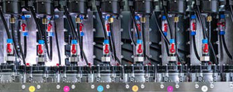 Durst printer temperature control